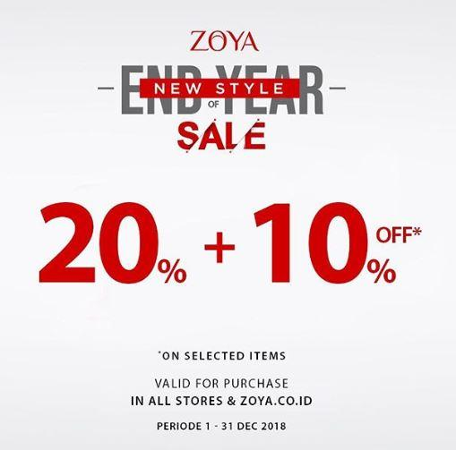 Year End Discount Of 20 10 At Zoya December 2018 Mall Olympic Garden