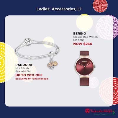 Pandora Bracelet Bering Red Watch Special Price S From Takashimaya October 2019 Gotomalls